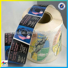 popular sealing labels on a large scale